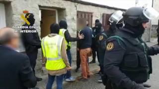 Operaciones de la Guardia Civil. Operación Keops. Servicio de Información, Segovia