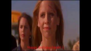 Happy 39th Birthday Sarah Michelle Gellar! :)