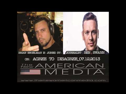 Journalist Ben Swann Talks Freedom, & Liberty w/ Brian Engelman Of The New American Media