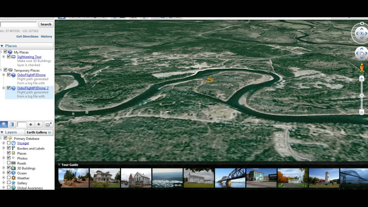 Map made easy with Google Earth KMLs - Oxbo Site