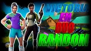 VICTORIA epica FORTNITE DUOS random !!!! - FORTNITE - benjacrack 10