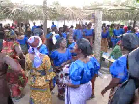African Funeral Singing and Dance by the Ewe People