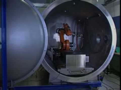 Plasma Coating In A Vacuum With A KUKA Robot