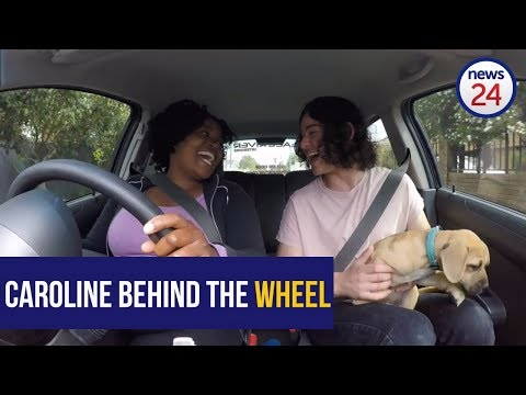 WATCH: Caroline's back behind the wheel! Our favourite Capetonian driving duo are at it again...