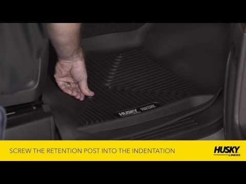 Husky Liners® Xact Contour Floor Mats, Installation Video
