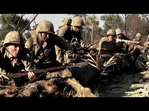 The Pacific - EP 06/10: Peleliu Airfield Attack - Scene 1 (2010)