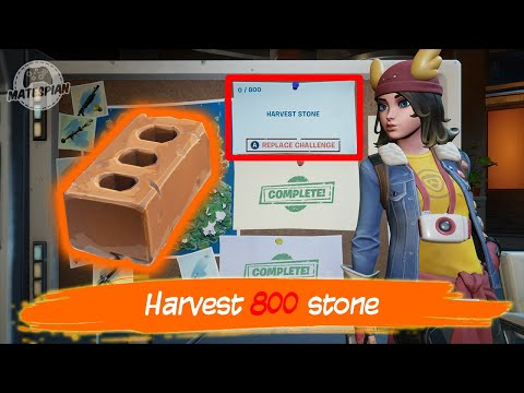 FORTNITE - Harvest Stone - Daily Challenges