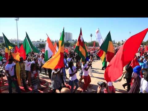 Marche verte symbolique à Agadir - Universiapolis