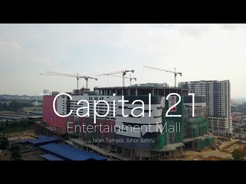 Capital City - Theme Park . Resort . Mall  @ Tampoi, Johor Bahru - Progress As 05.12.2017