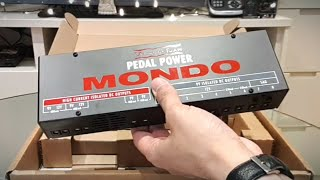 Voodoo Lab Pedal Power MONDO Unboxing Best Guitar Rig Power Supply