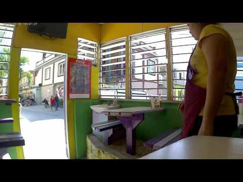 Corner cafe in San Pedro, Belize