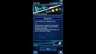 Yugioh Duel Links - Duel Quiz Level 2 : Blazing Rose 1