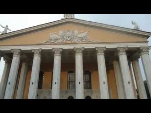 Bishkek Opera And Ballet Theater - Greek Revival Architecture At Its Finest - Kyrgyzstan