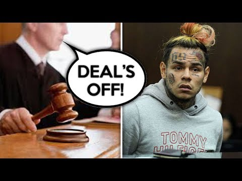 6ix9ine's Plea Deal Fell Through and Is Sentenced to Life