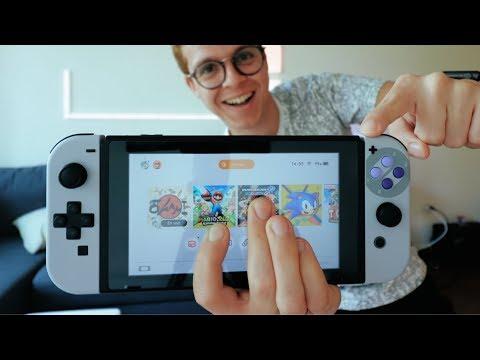 Nintendo Switch edición SNES !!!