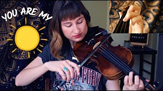 You Are My Sunshine // Easy Violin Tutorial
