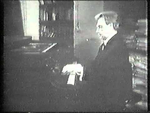 Heinrich Neuhaus plays Szymanowski Prelude Op. 1 No. 8