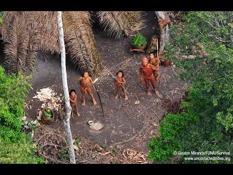 Documentario - Tribo Indigena - [ Isolada de Humanos ] na Amazonia do Acre - Tribe in the Picture