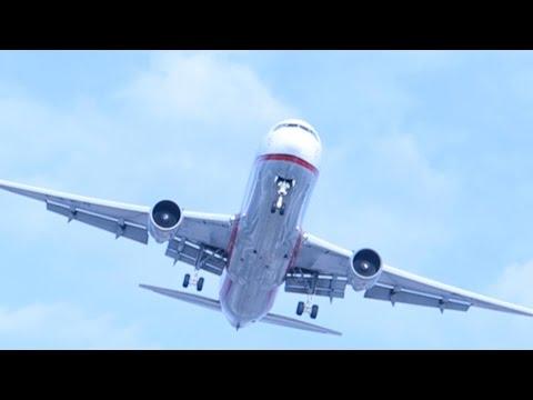Красивые #взлеты и #посадки самолетов аэропорт #Шереметьево // Sheremetyevo international airport