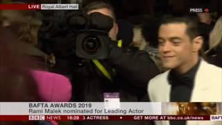 More BAFTA Red Carpet:  Lucy Boynton, Bo Rhap Boys, Roger and Sarina Taylor 10/02/2019