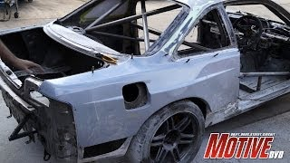 Motive Garage Time Attack S14 - JET200 Ver4 Part-2 - Fabrication overload at CS Engineering