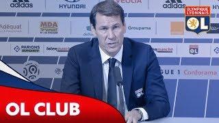 Conférence de presse : Présentation de Rudi Garcia | Olympique Lyonnais