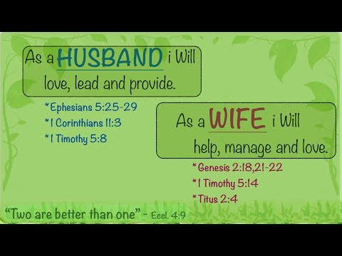 Bible Verses on Marriage - Be Encouraged
