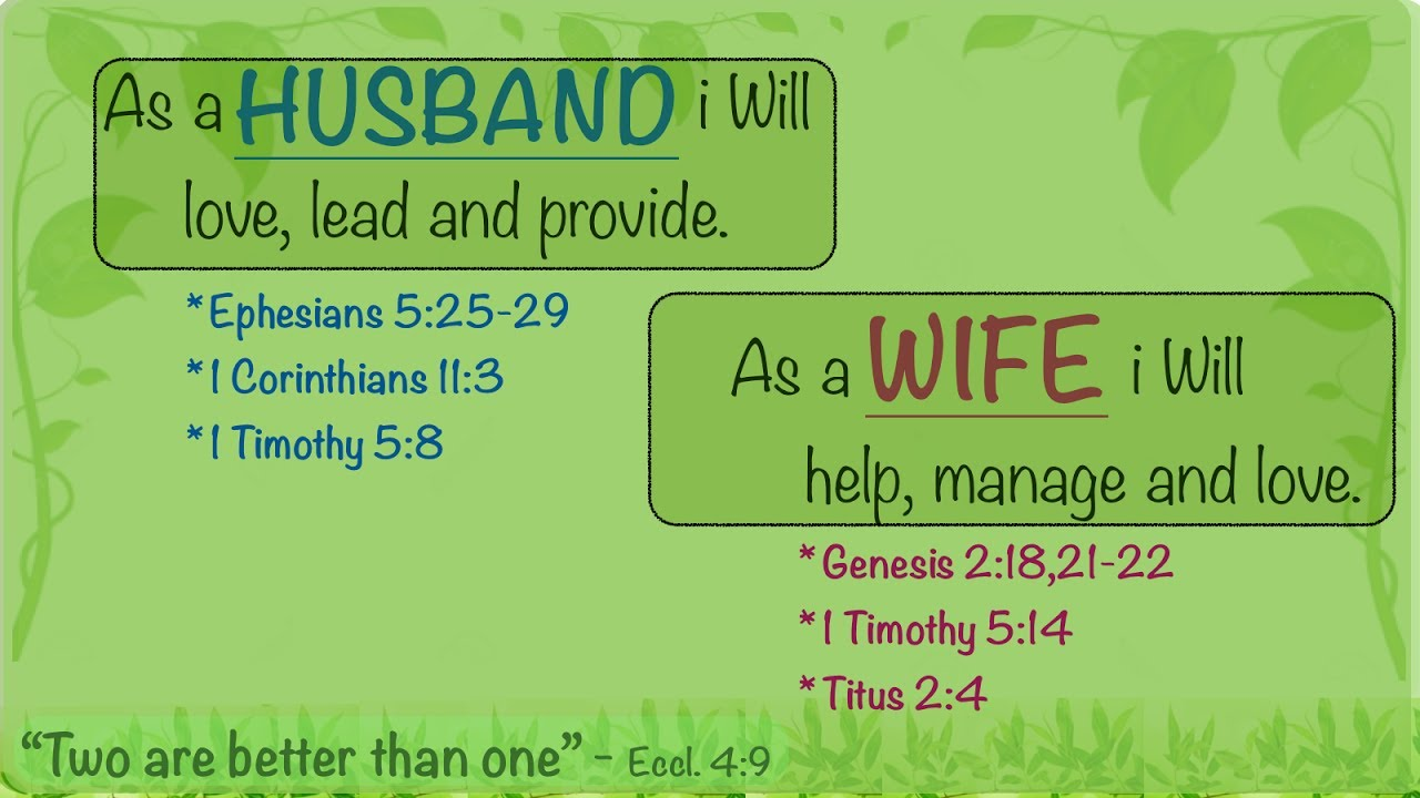Bible Quotes On Love And Marriage Bible Verses On Marriage  Be Encouraged  Youtube