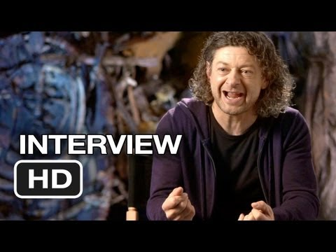 The Hobbit: An Unexpected Journey - Andy Serkis Interview - Gollum (2012) HD