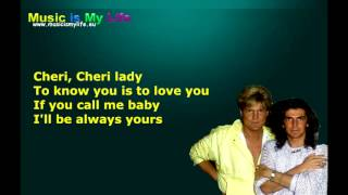 Modern Talking - Cheri Cheri Lady (Lyrics)