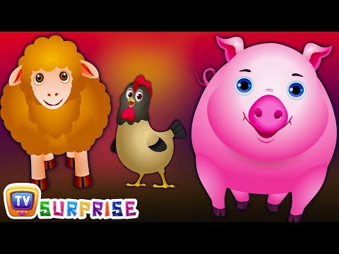 Thumbnail: ChuChu TV Surprise Eggs Nursery Rhymes Toys | Wheels on the Bus | Farm Animals and Animal Sounds