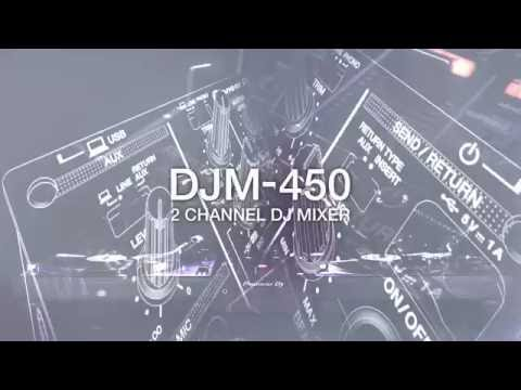 Pioneer DJ DJM-450 Official Introduction