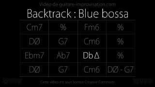 Blue Bossa (120bpm) : Backing track