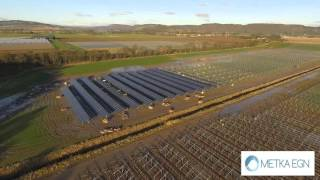 ERROLD 13MW Solar farm, Scotland