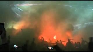 Hannover 96 vs VfL Wolfsburg 01.03.2016 Pyro