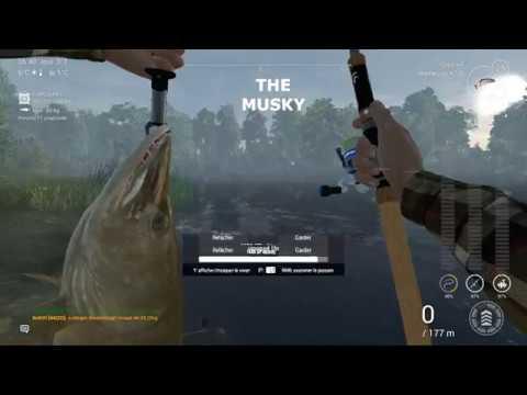 Fishing Planet Saint-croix Lake (Multi Rod Tutorial Musky)