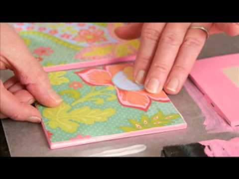 How To Make A Scrapbook Paper Quilt Tutorial With Cathie