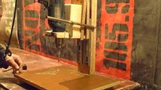 Как сделать сверлильный станок(2 часть) How to make a drill press (part 2)
