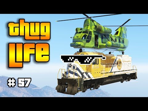 GTA 5 ONLINE : THUG LIFE AND FUNNY MOMENTS (WINS, STUNTS AND FAILS #57)