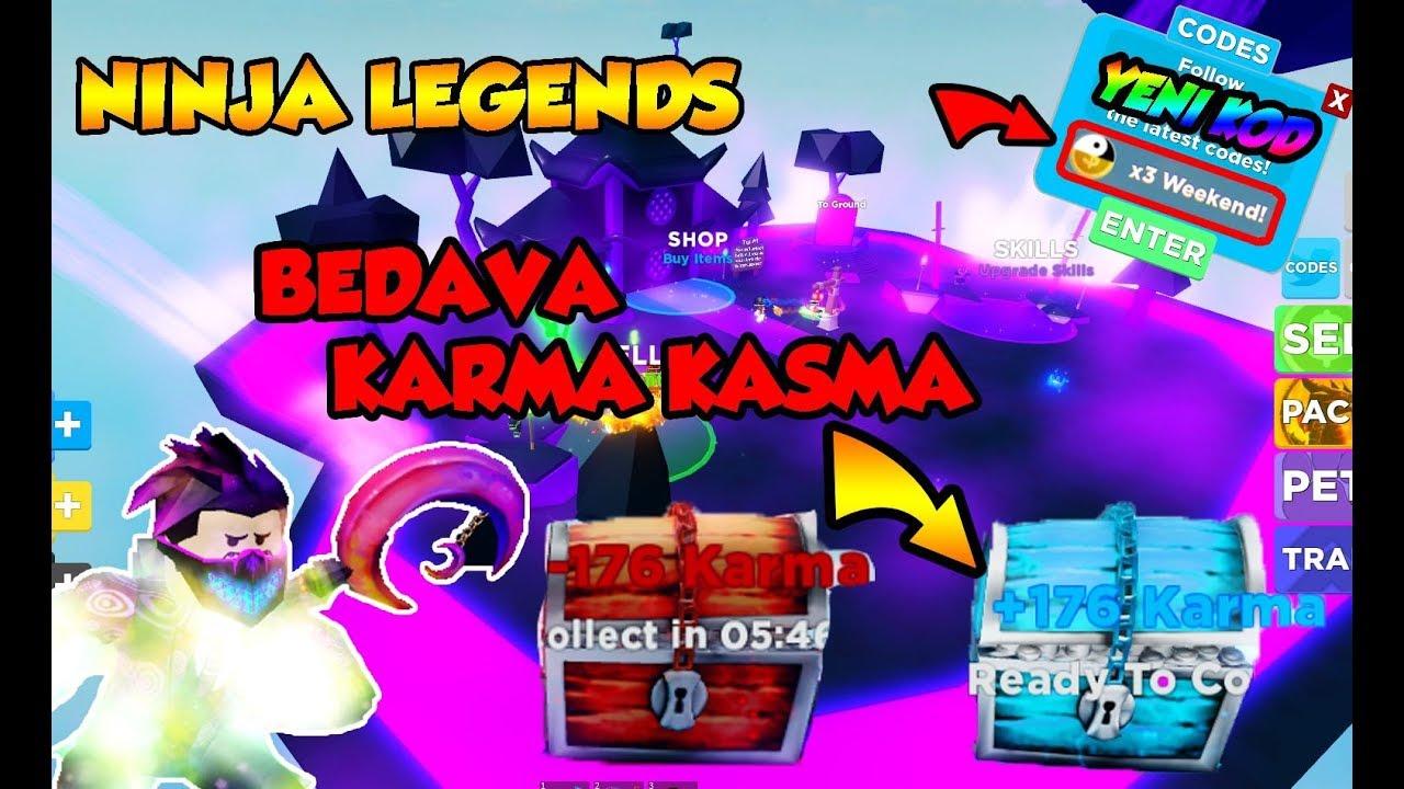 roblox ninja legends karma codes
