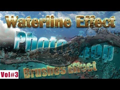 Waterline Brushes Effect In Photoshop Vol#3 2018 [desimesikho]