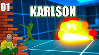 Karlson - First Person Parkour Shooter - PC Gameplay And Commentary