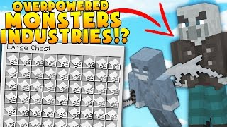 OP RAGE STRATEGY Minecraft MONSTERS INDUSTRIES 2.0 - EPIC SECRET UPDATED MAP