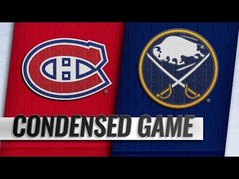 10/25/18 Condensed Game: Canadiens @ Sabres