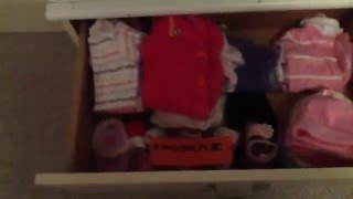 Changing Table / Dresser Organization
