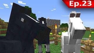 Tackle⁴⁸²⁶ Minecraft (1.7.9) #23 - คู่มือการเลี้ยงม้าเบื้องต้น