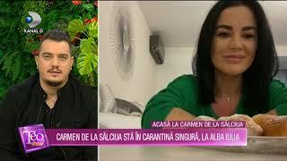 Teo Show (27.03.2020) - Carmen de la Salciua in carantina singura, la Alba Iulia!