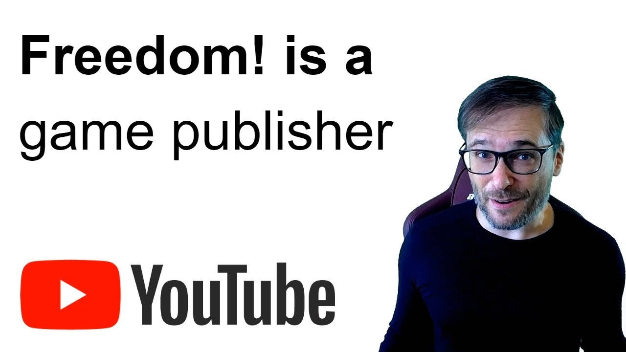 ★ Freedom! is a game publisher