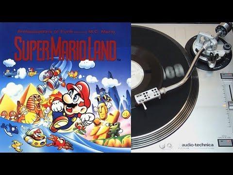 Super Mario land - Ambassadors of funk feat. M.C Mario - vinyl EP face A (Living beat records)