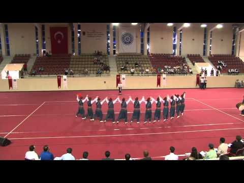 Dicle Üniversitesi Halk Dansları Topluluğu (Ege Üniversitesi 18.05.2013)
